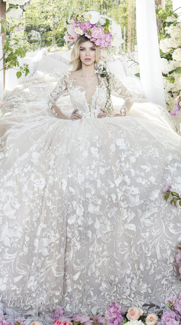 Yumi Katsura Spring 2019 Wedding Dresses Life Is A Garden Bridal Collection - HAVEN