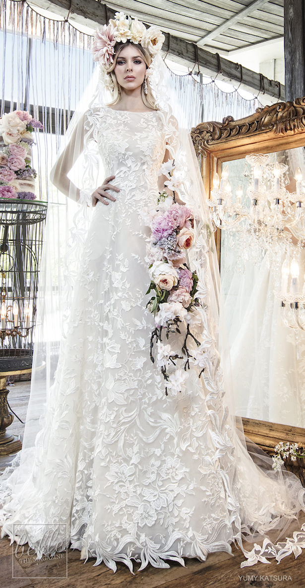 Yumi Katsura Spring 2019 Wedding Dresses Life Is A Garden Bridal Collection - HAYLEY WITH VEIL