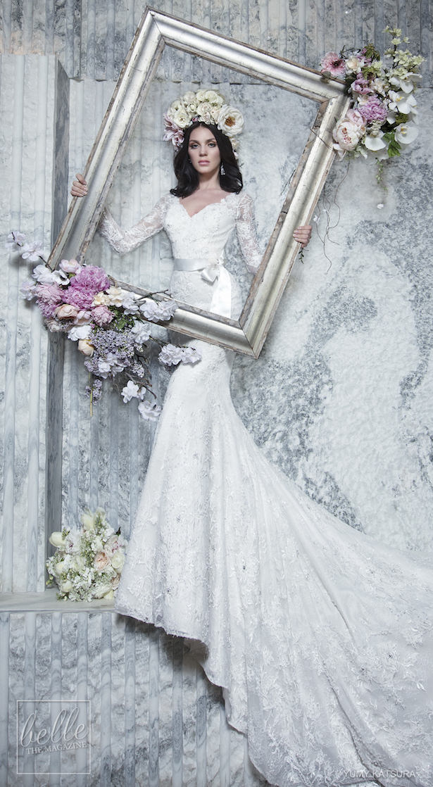 Yumi Katsura Spring 2019 Wedding Dresses Life Is A Garden Bridal Collection - HOLLIS