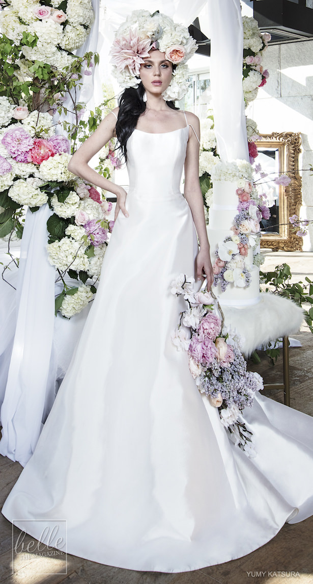 Yumi Katsura Spring 2019 Wedding Dresses Life Is A Garden Bridal Collection - HONORE