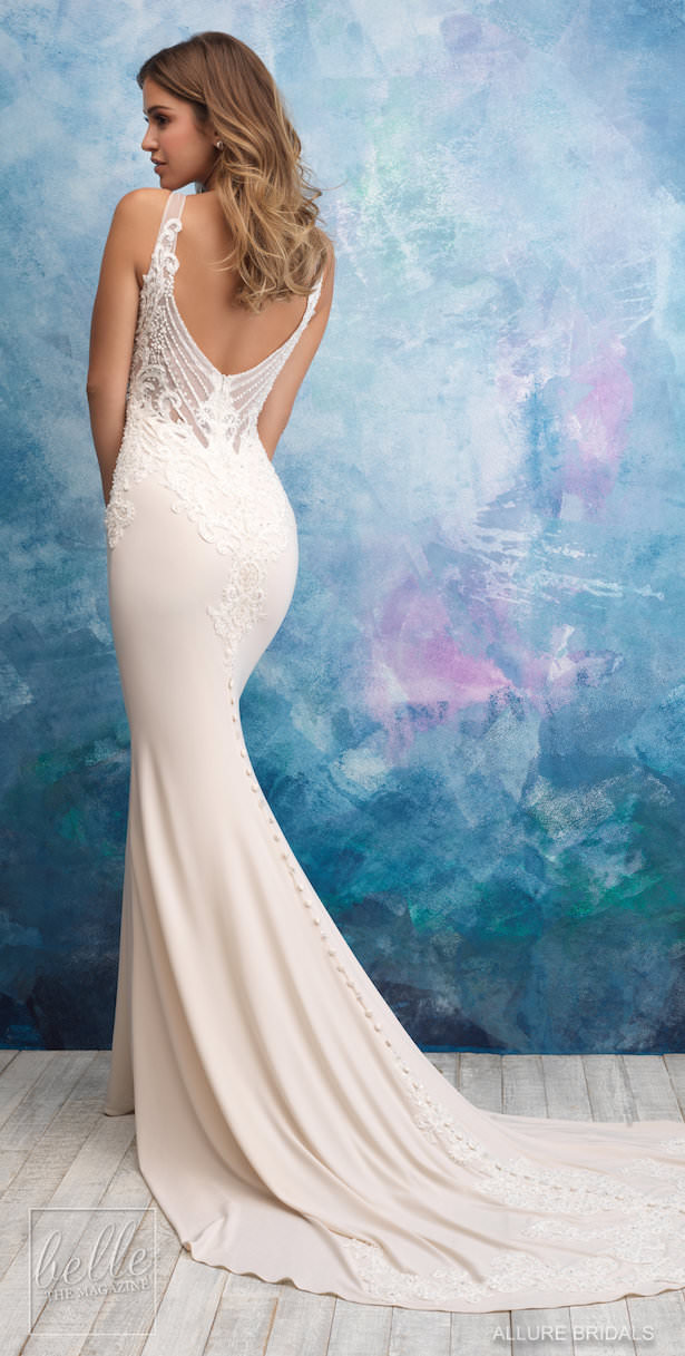 Allure Bridals Wedding Dress Collection Fall 2018