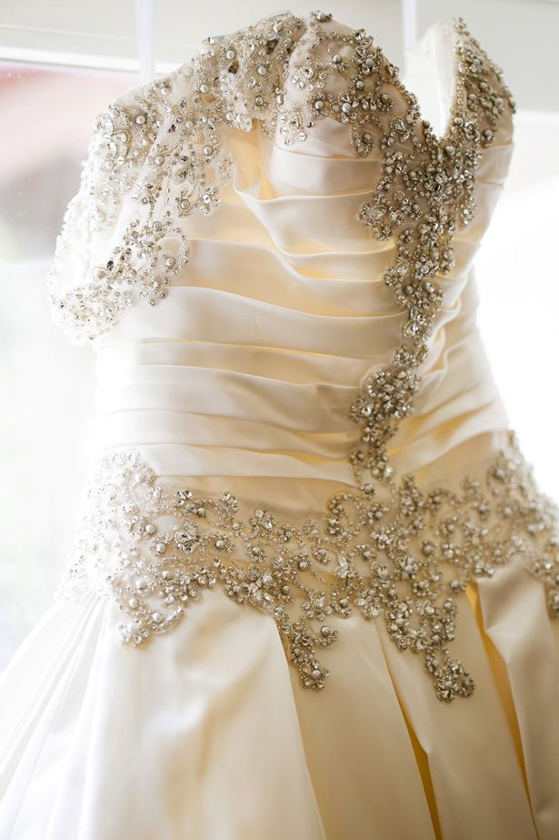 Beaded Ballgown Wedding Dress - Christopher Todd Studios