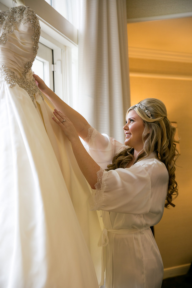 Bride getting ready photo - Christopher Todd Studios