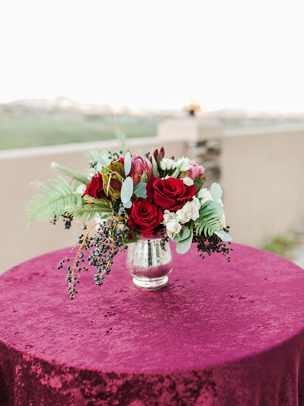 Burgundy Wedding Flowers - Mandy Ford Photography