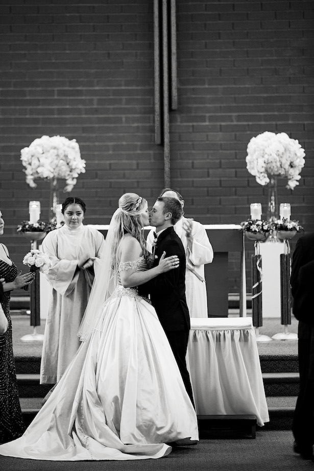 Church wedding ceremony - Christopher Todd Studios