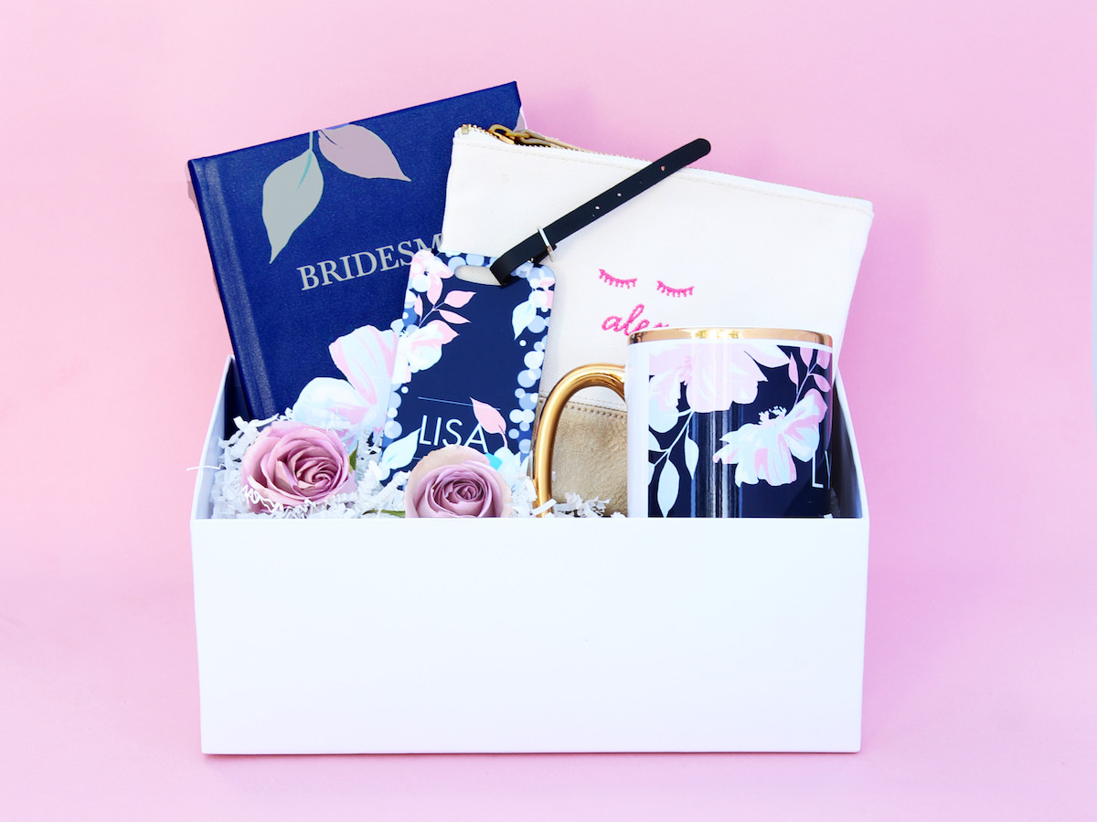 Shop Wedding Gifts: Gorgeous + Personalized Gifts For Your Bridal Party From