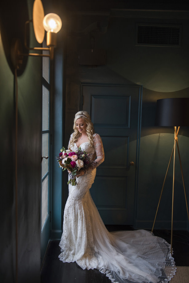 Lace Sleeve Wedding Dress - Photography: The Big Affair
