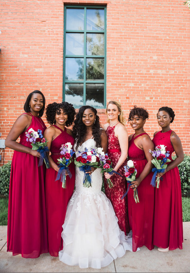 Long Bridesmaid Dresses - Photography: Sabel Moments
