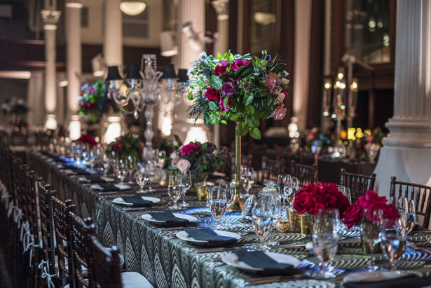 Long Wedding Table - Photography: The Big Affair