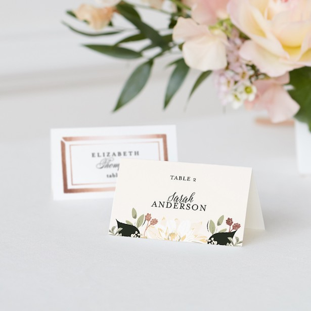 Minted Wedding Place Cards