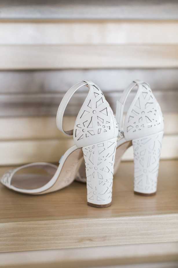 Modern Wedding Shoes - J Wiley Photography