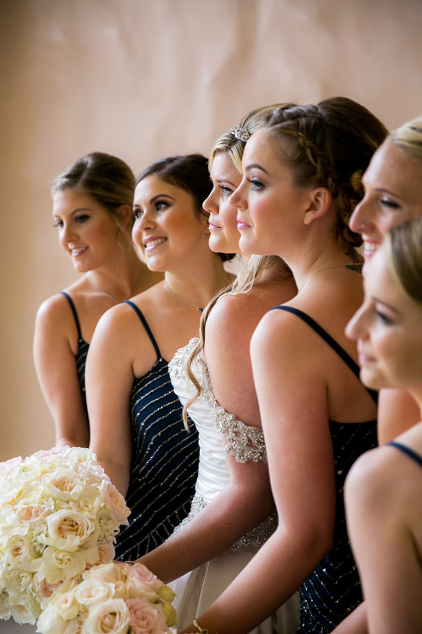 Navy Blue Bridesmaid Dresses - Christopher Todd Studios