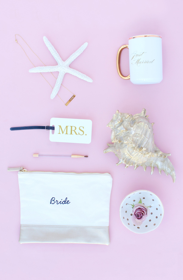 Personalized Bridal Gifts from The Wedding Shop by Shutterfly