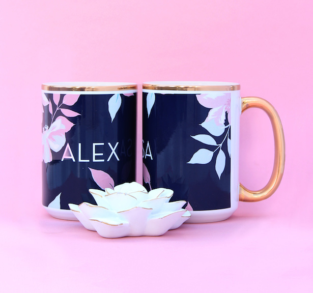 Personalized Coffee Mugs - Bridesmaids Gifts from The Wedding Shop by Shutterfly