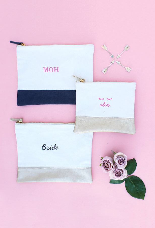 Personalized Pouches - Bridesmaids Gifs from The Wedding Shop by Shutterfly