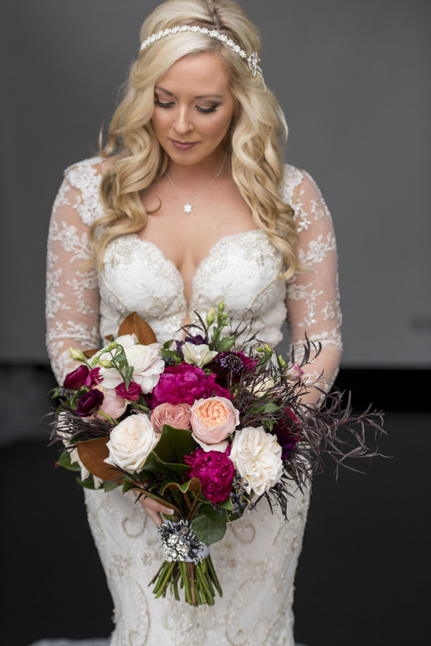 Rose Wedding Bouquet - Photography: The Big Affair