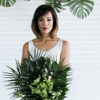 Sophisticated Modern Wedding Bouquet - J Wiley Photography