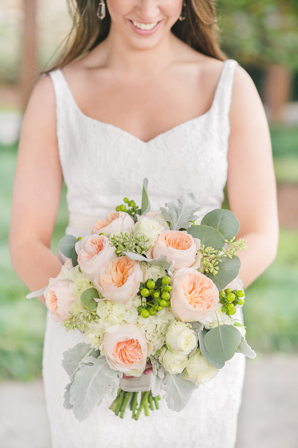 Sophisticated Wedding Bouquet - Allison Nichole Photography