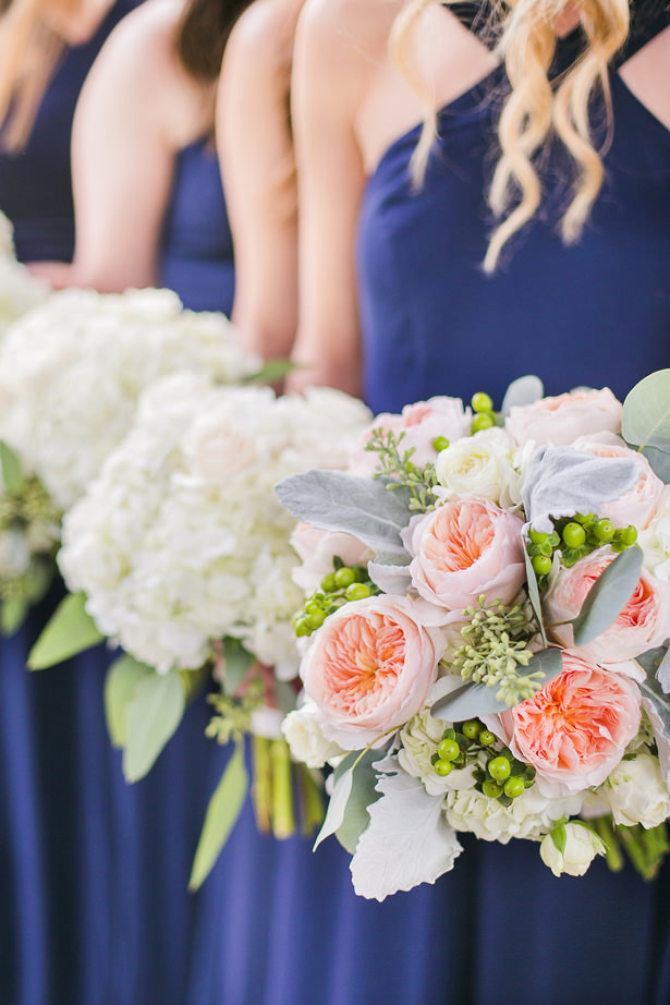 Sophisticated Wedding Bouquets - Allison Nichole Photography