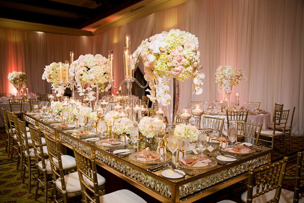 Tall Wedding Table Centerpiece - Christopher Todd Studios