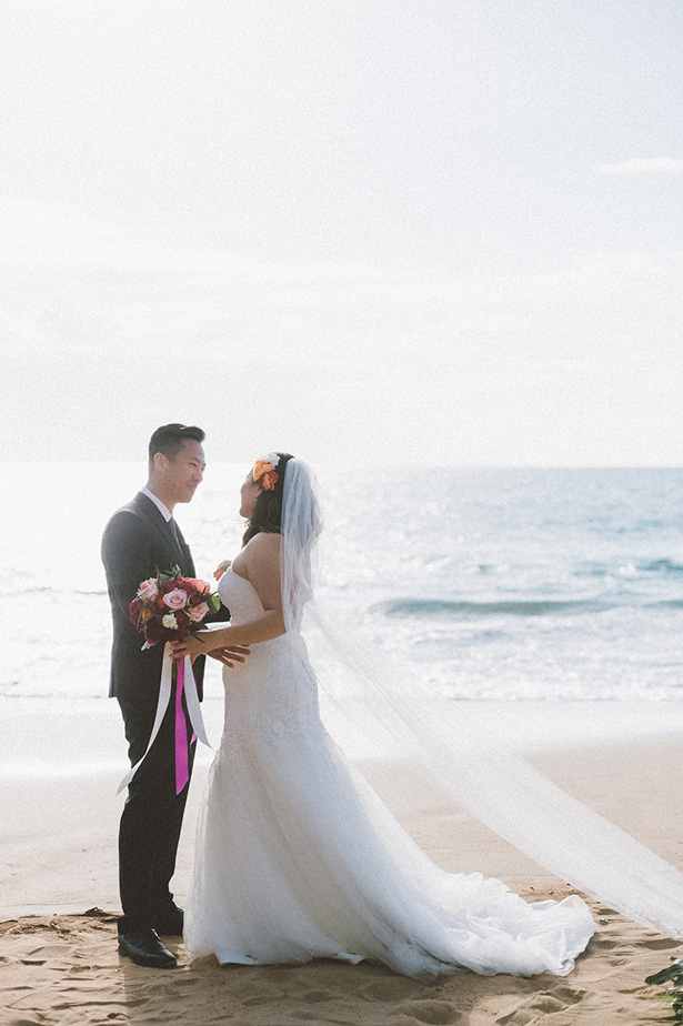 Tropical Beach Wedding - Angie Diaz Photography