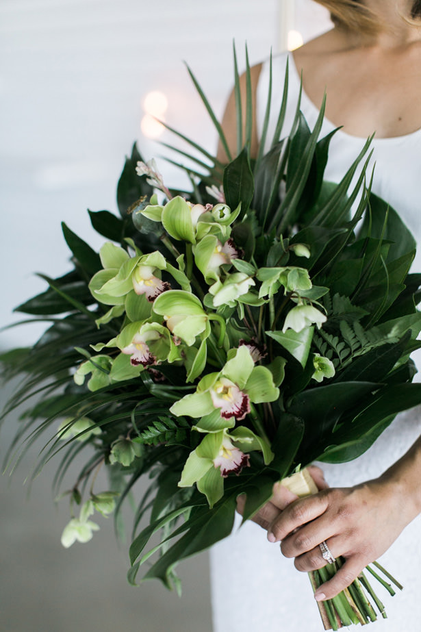 Tropical Modern Wedding Bouquet - J Wiley Photography