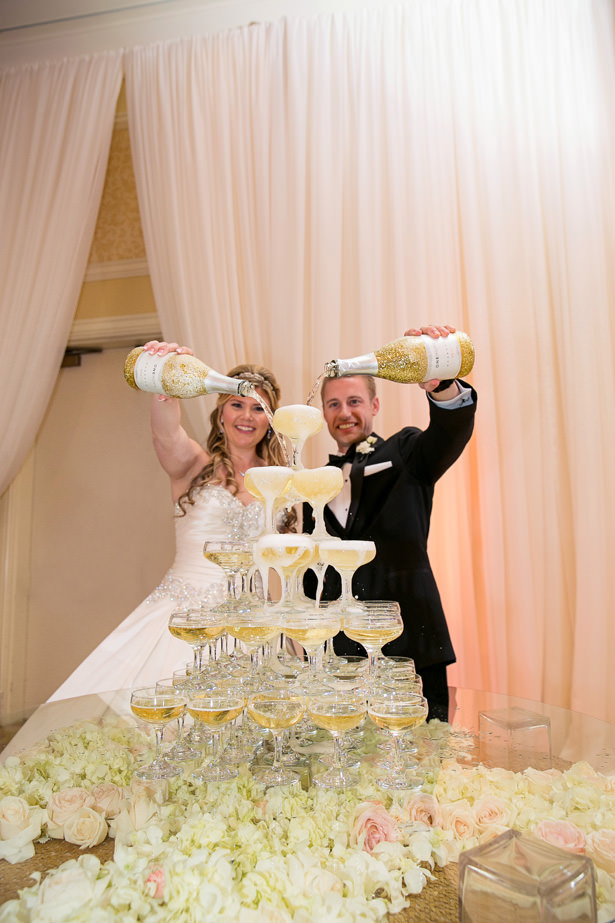 Wedding Champagne Fountain - Christopher Todd Studios