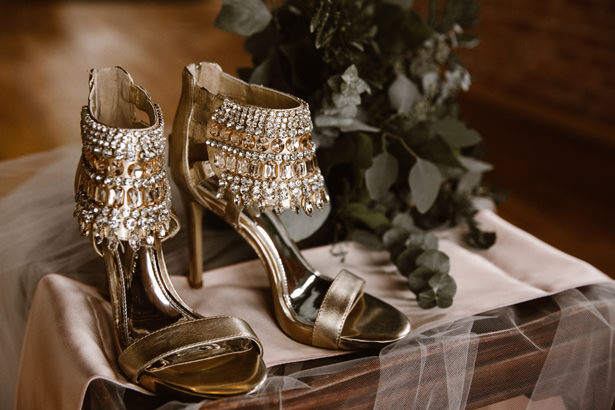 Wedding Shoes - T&K PHOTOGRAPHY