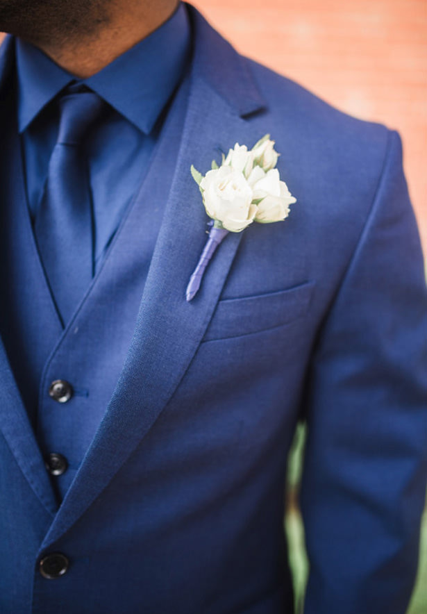 Wedding boutonniere - Photography: Sabel Moments