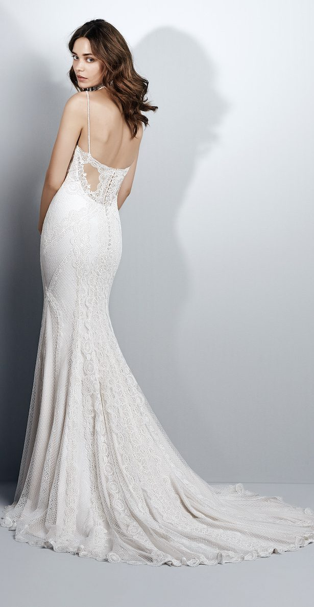 Beach Wedding Dress by Sottero and Midgley - Narissa Back