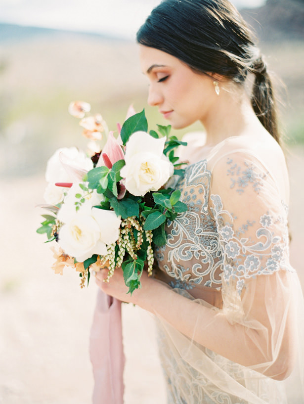 Beautiful Desert Bride - Matthew Nigel Photography