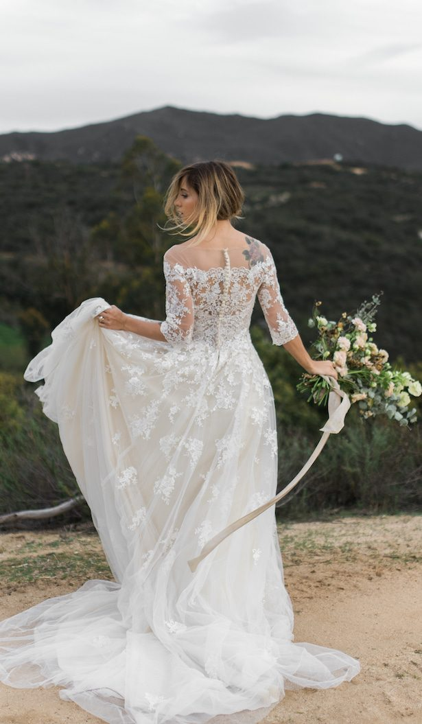 Boho Wedding Dress by Maggie Sottero Designs - Chantel Marie Photography