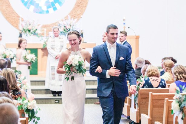 Church Wedding Ceremony Details - Alisha Marie Photography