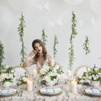 Classic Elegant Wedding Tablescape - Alicia Campbell Photography