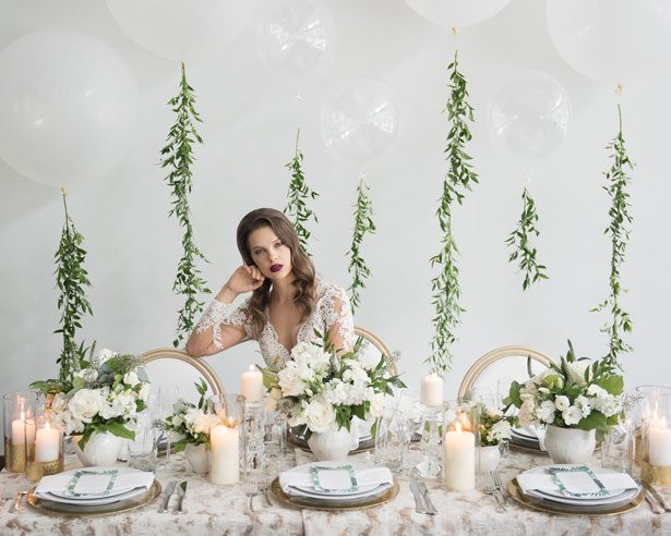 Classic Greek Wedding Inspiration with a Modern Twist