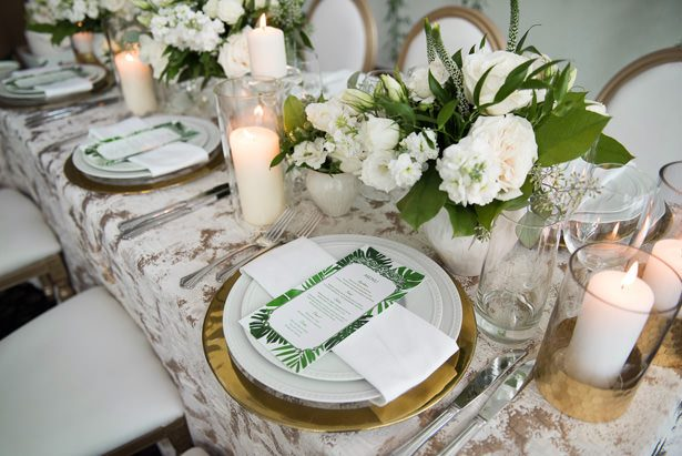 Classic Wedding Tablescape Details - Alicia Campbell Photography