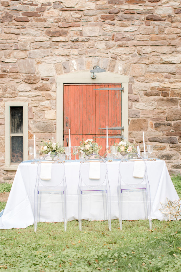 Countryside Wedding Tablescape - Idalia Photography