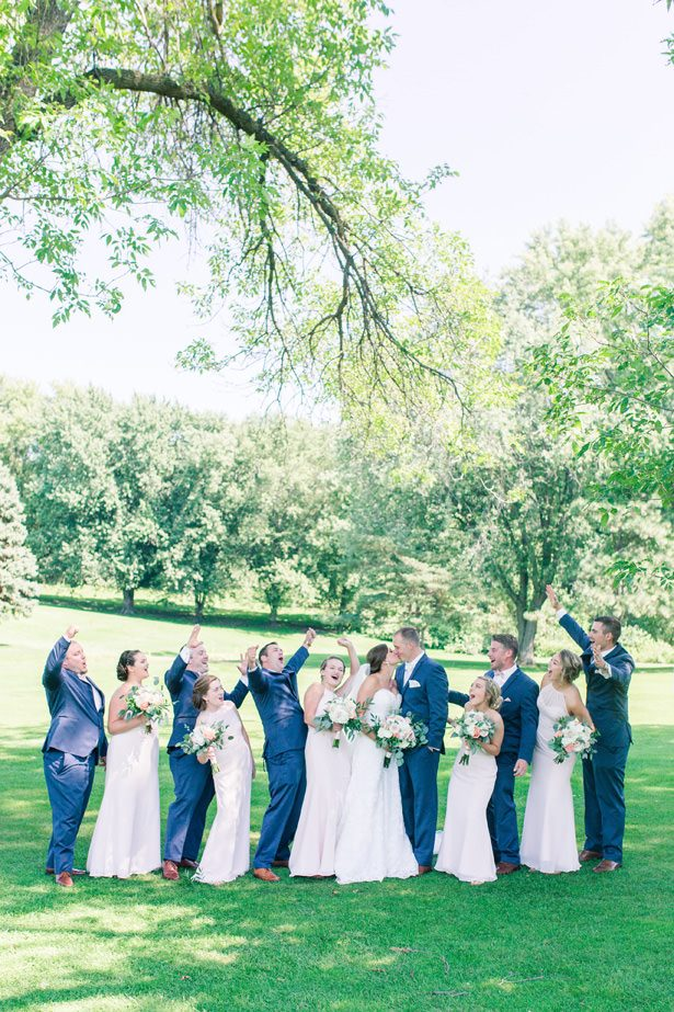 Cute Wedding Party Photo - Alisha Marie Photography
