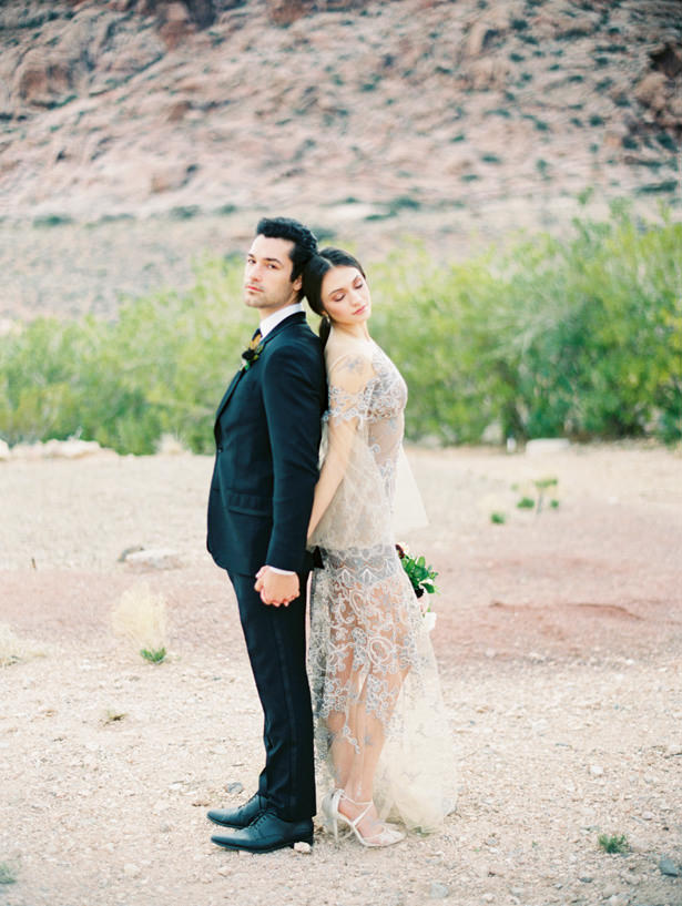 Modern Desert Wedding - Matthew Nigel Photography