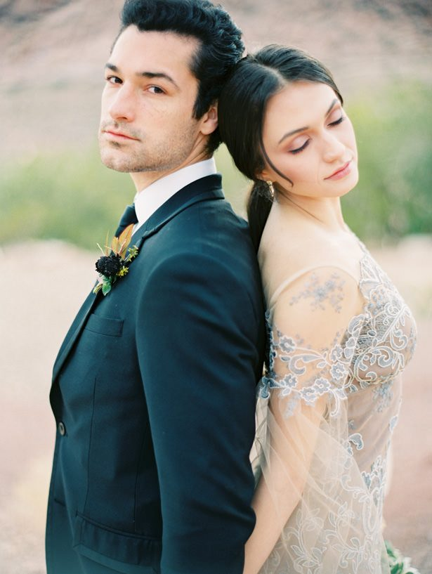 Modern Desert Wedding Inspiration