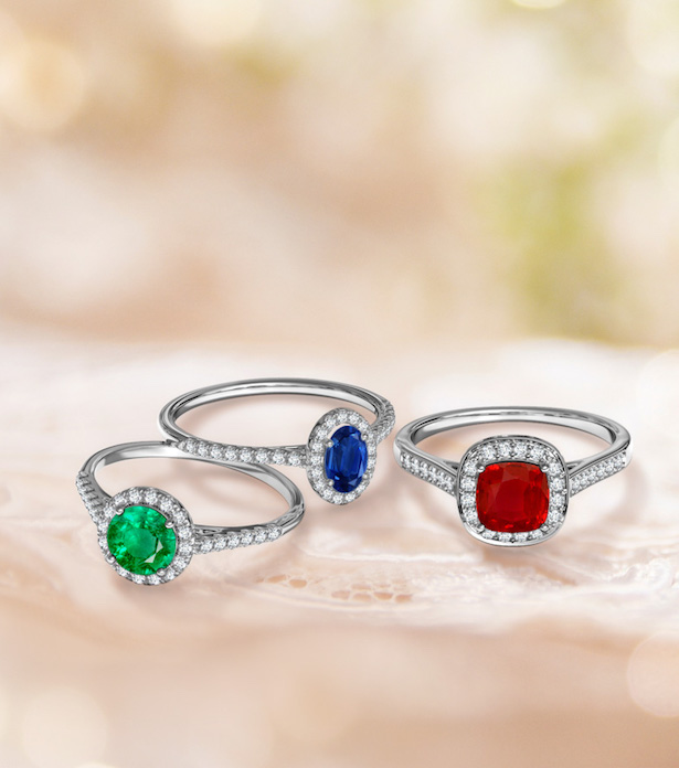 Engagement Ring Trends with Angara -Colored gems