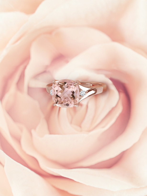 Engagement Ring Trends with Angara - Rose gold