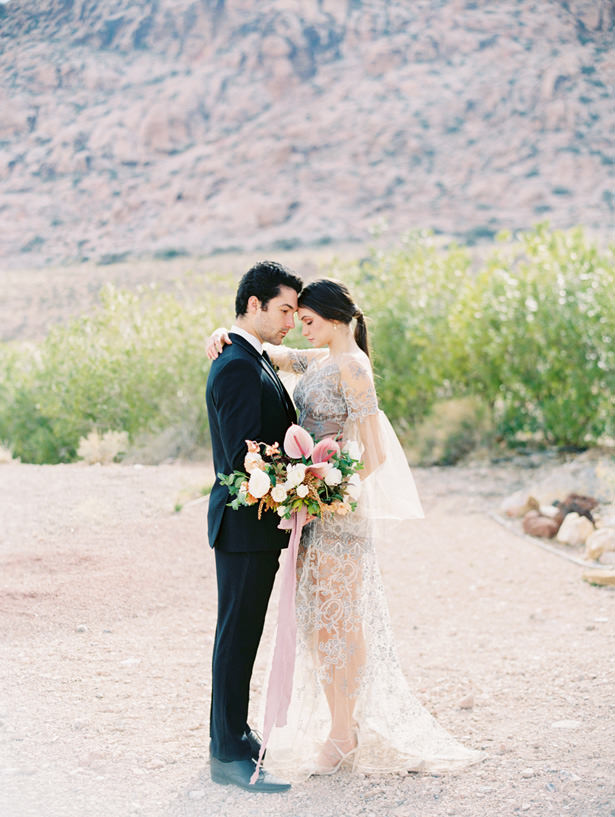 Gorgeous Desert Wedding Photo - Matthew Nigel Photography