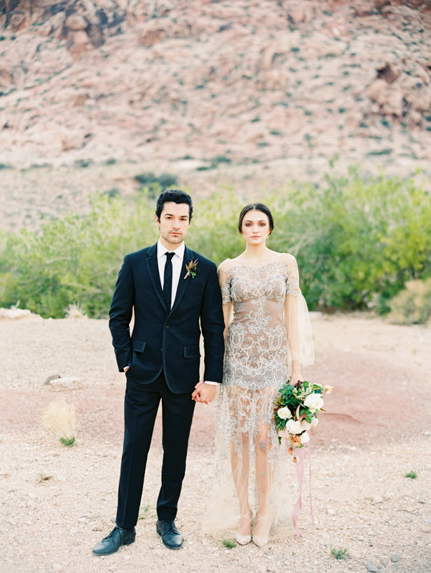 Gorgeous Desert Wedding Photography   - Matthew Nigel Photography