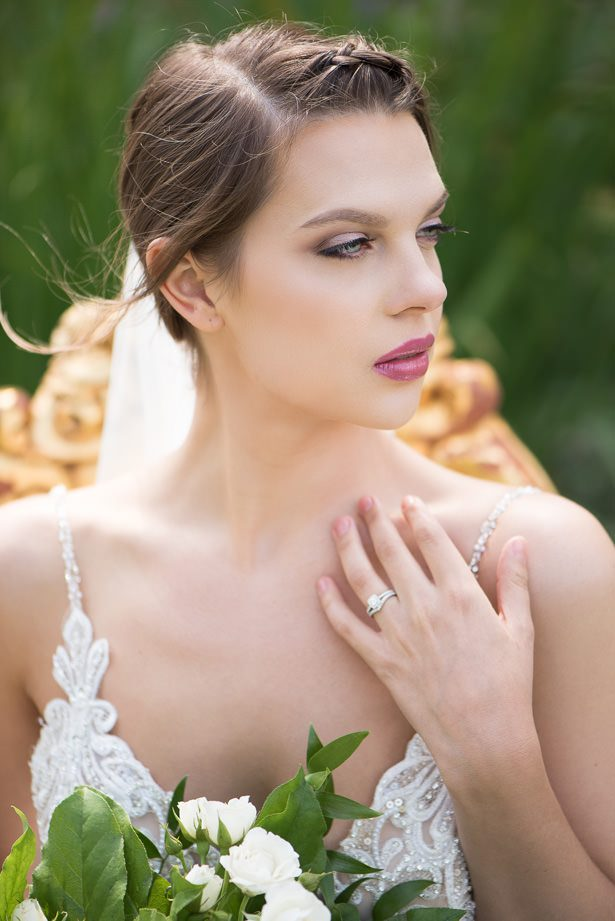 Gorgeous Sophisticated Bride - Alicia Campbell Photography