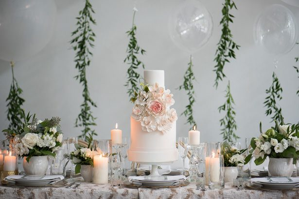 Gorgeous Wedding Cake - Alicia Campbell Photography