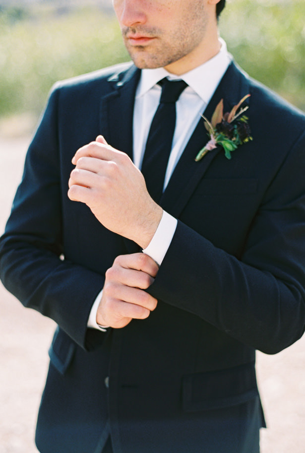 Groom Boutonniere - Matthew Nigel Photography