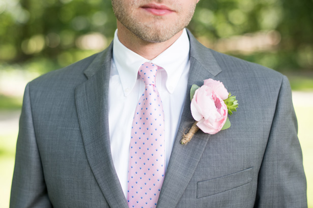 Groom Boutonniere - Shane Hawkins Photography