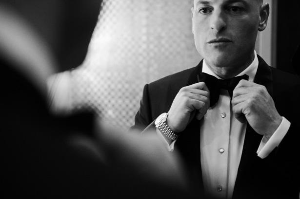 Grooms Tux and Bowtie - Jean Smith Photography