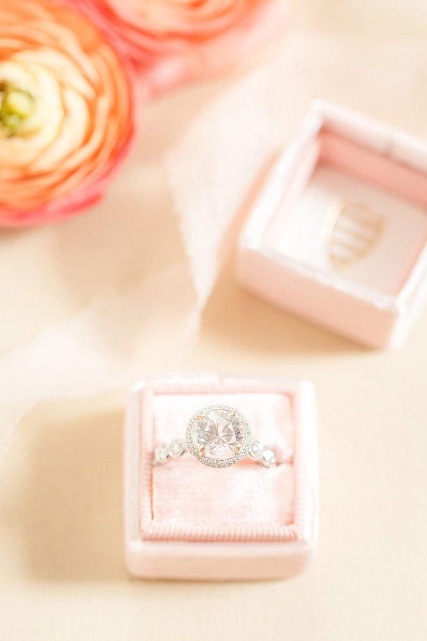 Halo marquise diamond engagement ring - Idalia Photography